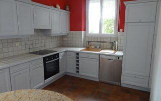 Homestaging d'une cuisine rustique pour la vente de la maison -orleans